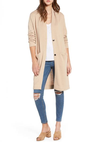 Shawl Collar Cardigan  by Leith $79