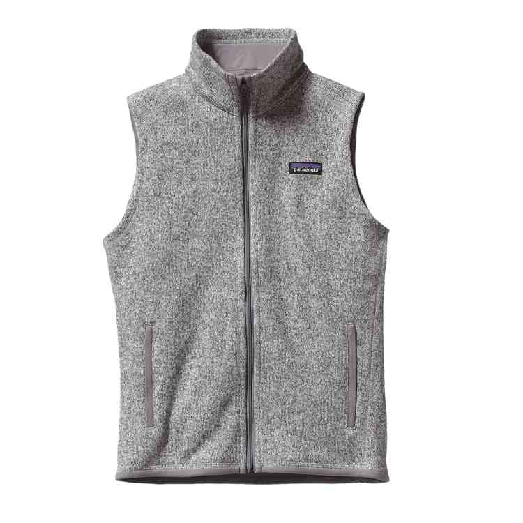 Patagonia Women's Better Sweater Vest  in Birch White $99