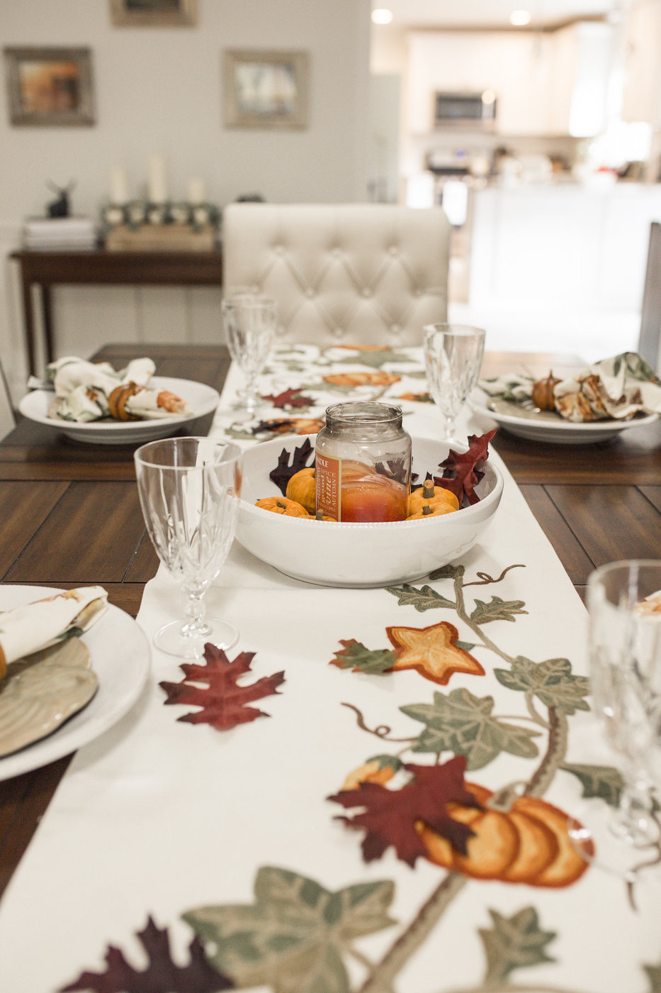 5 Easy Thanksgiving Table-scape Ideas